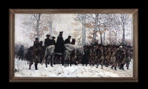 The March to Valley Forge (William Trego)