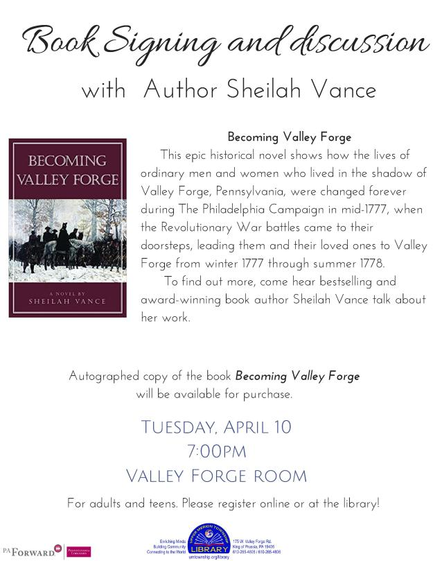 2018 Book signing and discussion with Sheilah Vance (1)